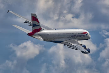 G-XLEG - British Airways Airbus A380