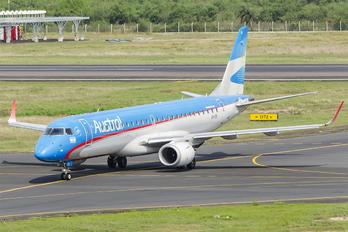 LV-CID - Austral Lineas Aereas Embraer ERJ-190 (190-100)