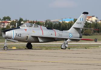 526742 - Greece - Hellenic Air Force Republic F-84F Thunderstreak