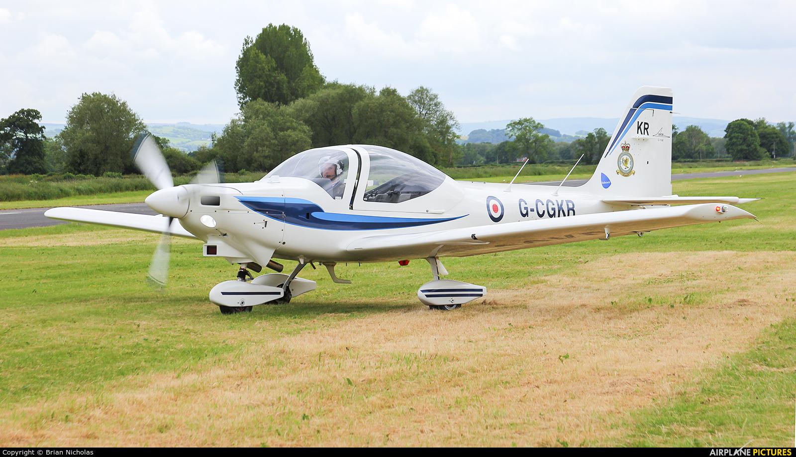 Babcock Aerospace G-CGKR aircraft at Welshpool
