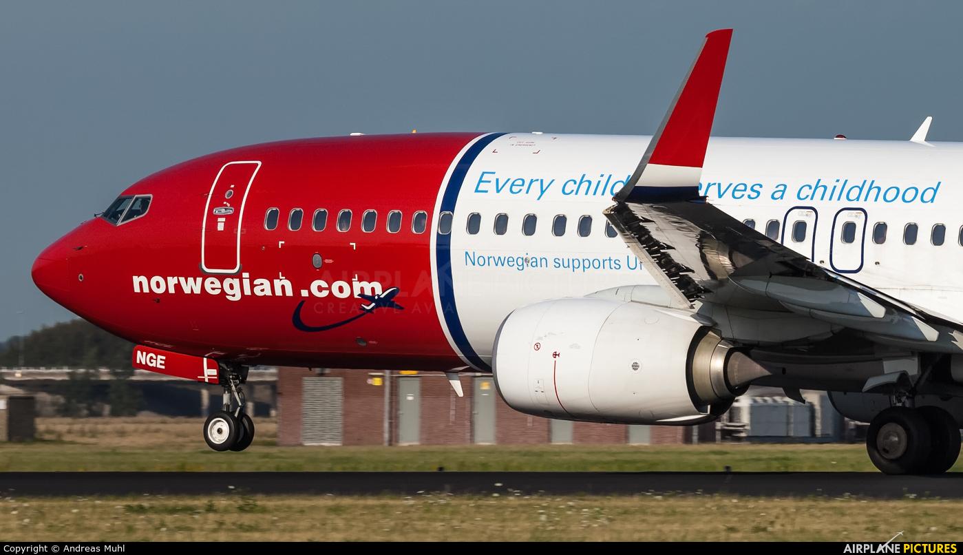 Norwegian Air Shuttle LN-NGE aircraft at Amsterdam - Schiphol