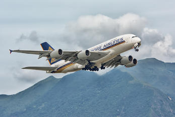 9V-SKF - Singapore Airlines Airbus A380