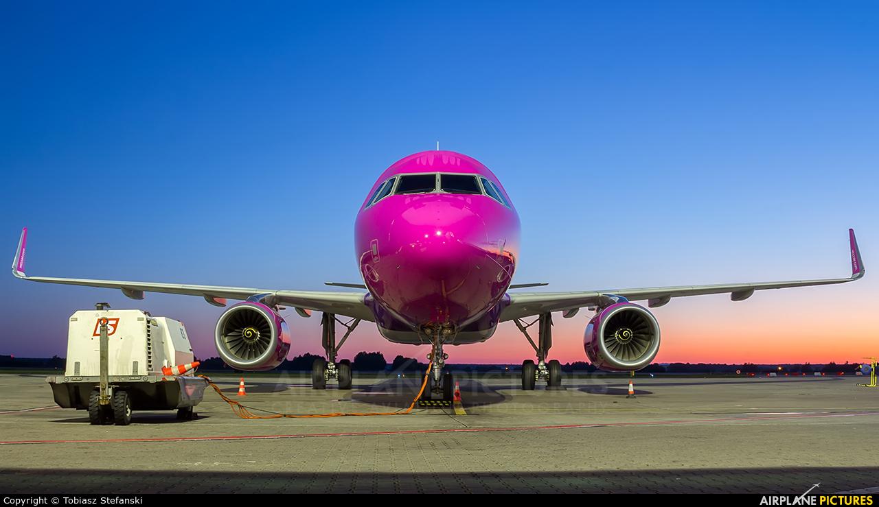 Wizz Air HA-LYP aircraft at Katowice - Pyrzowice