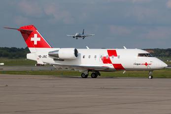 HB-JRC - REGA Swiss Air Ambulance  Canadair CL-600 Challenger 604