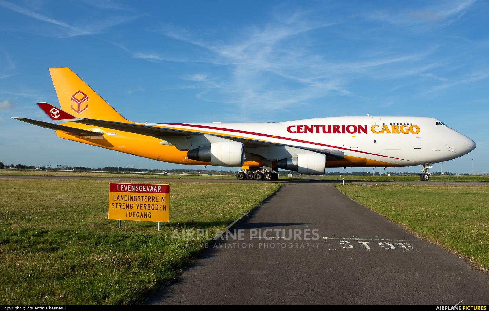 Centurion Air Cargo N742WA aircraft at Amsterdam - Schiphol