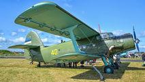 40 - Estonia - Air Force Antonov An-2 aircraft