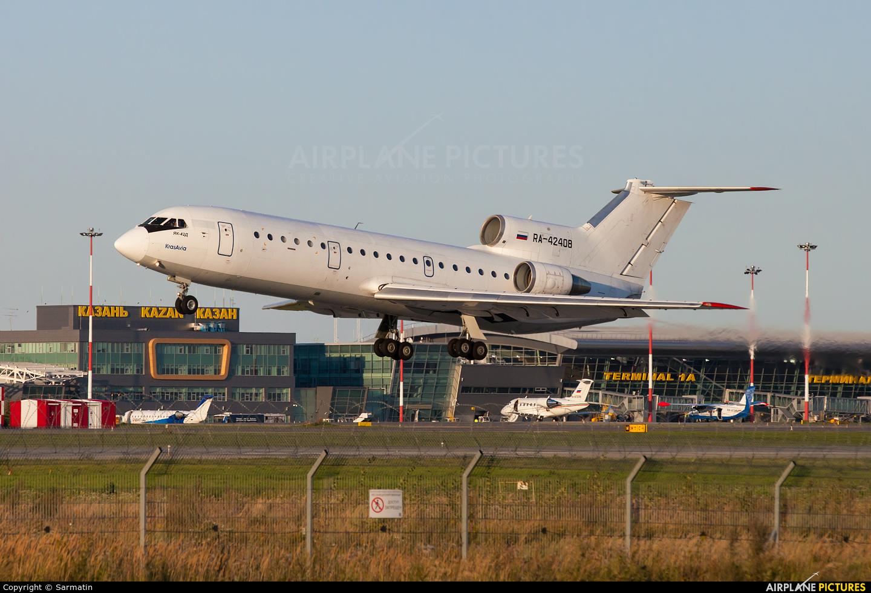 KrasAvia RA-42408 aircraft at Kazan