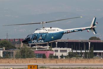 PS-67 - Italy - Police Agusta / Agusta-Bell AB 206A & B