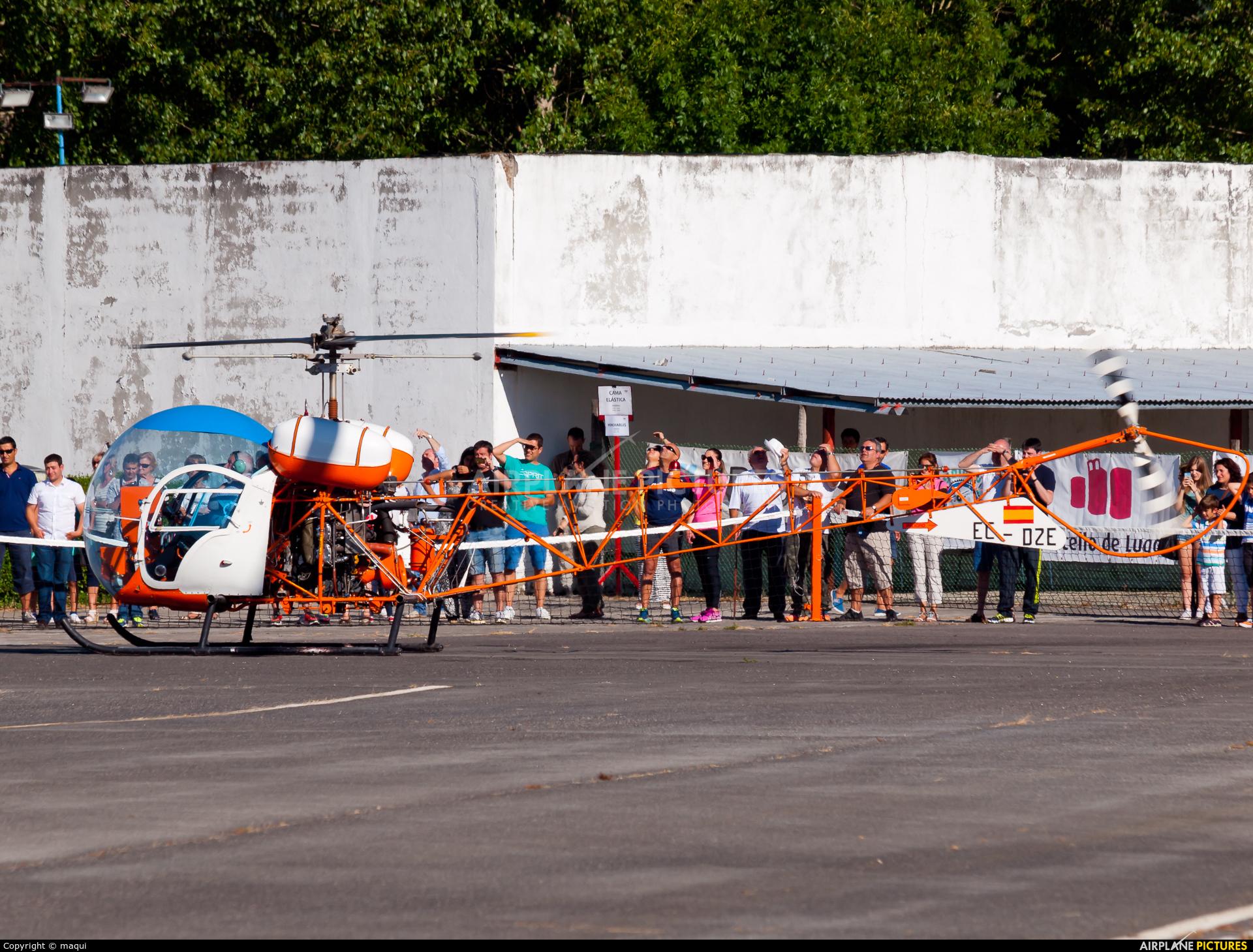 Real Aero Club de Lugo EC-DZE aircraft at Lugo - Rozas