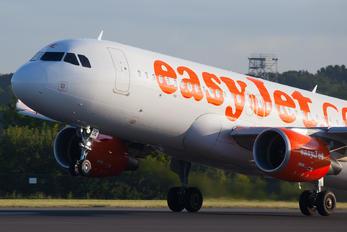 G-EZOE - easyJet Airbus A320