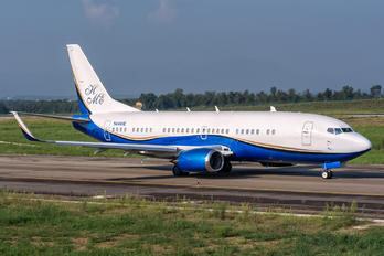 N444HE - Private Boeing 737-300