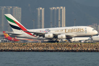 A6-EEB - Emirates Airlines Airbus A380