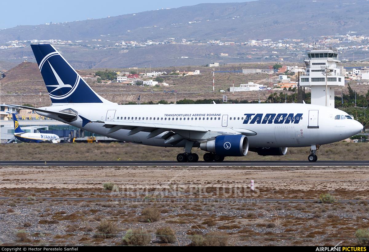 Tarom YR-LCA aircraft at Tenerife Sur - Reina Sofia