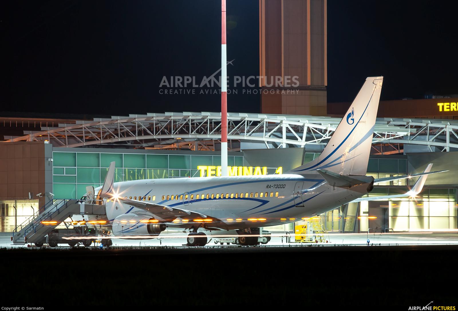 Gazpromavia RA-73000 aircraft at Kazan