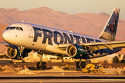 N203FR - Frontier Airlines Airbus A320 aircraft