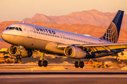 N418UA - United Airlines Airbus A320 aircraft