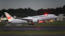 JA831J - JAL - Japan Airlines Boeing 787-8 Dreamliner aircraft