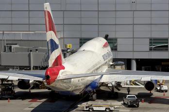 G-BYGD - British Airways Boeing 747-400