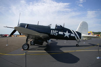N72NW - Private Goodyear FG Corsair (all models)