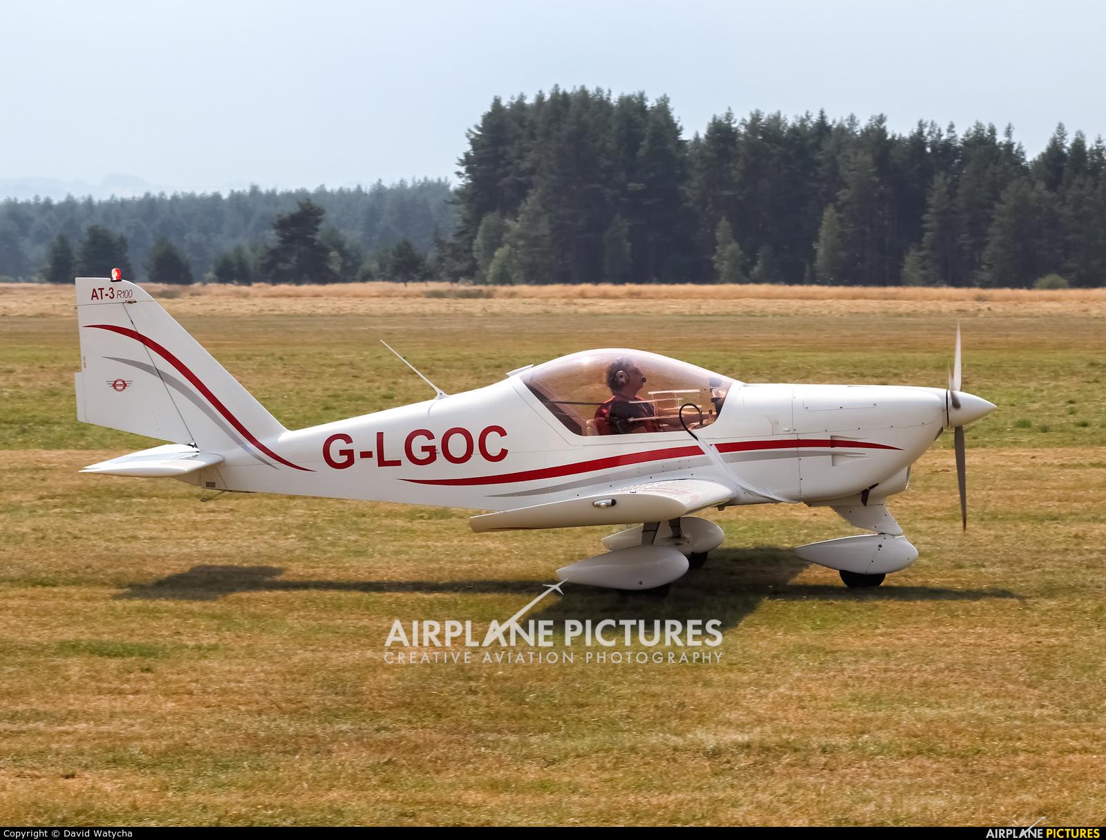 Private G-LGOC aircraft at Nowy Targ