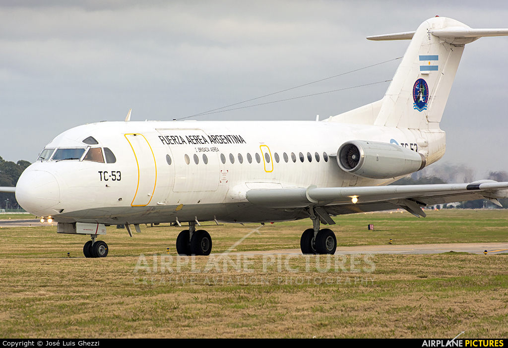 Argentina - Air Force TC-53 aircraft at Buenos Aires - Jorge Newbery