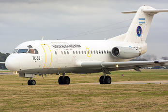 TC-53 - Argentina - Air Force Fokker F28