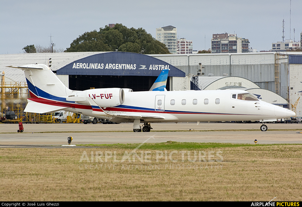 Baires Fly LV-FUF aircraft at Buenos Aires - Jorge Newbery