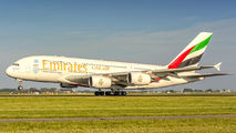 A6-EDL - Emirates Airlines Airbus A380 aircraft