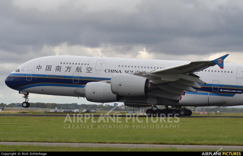 China Southern Airlines B-6139 aircraft at Amsterdam - Schiphol