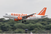 G-EZAP - easyJet Airbus A319 aircraft