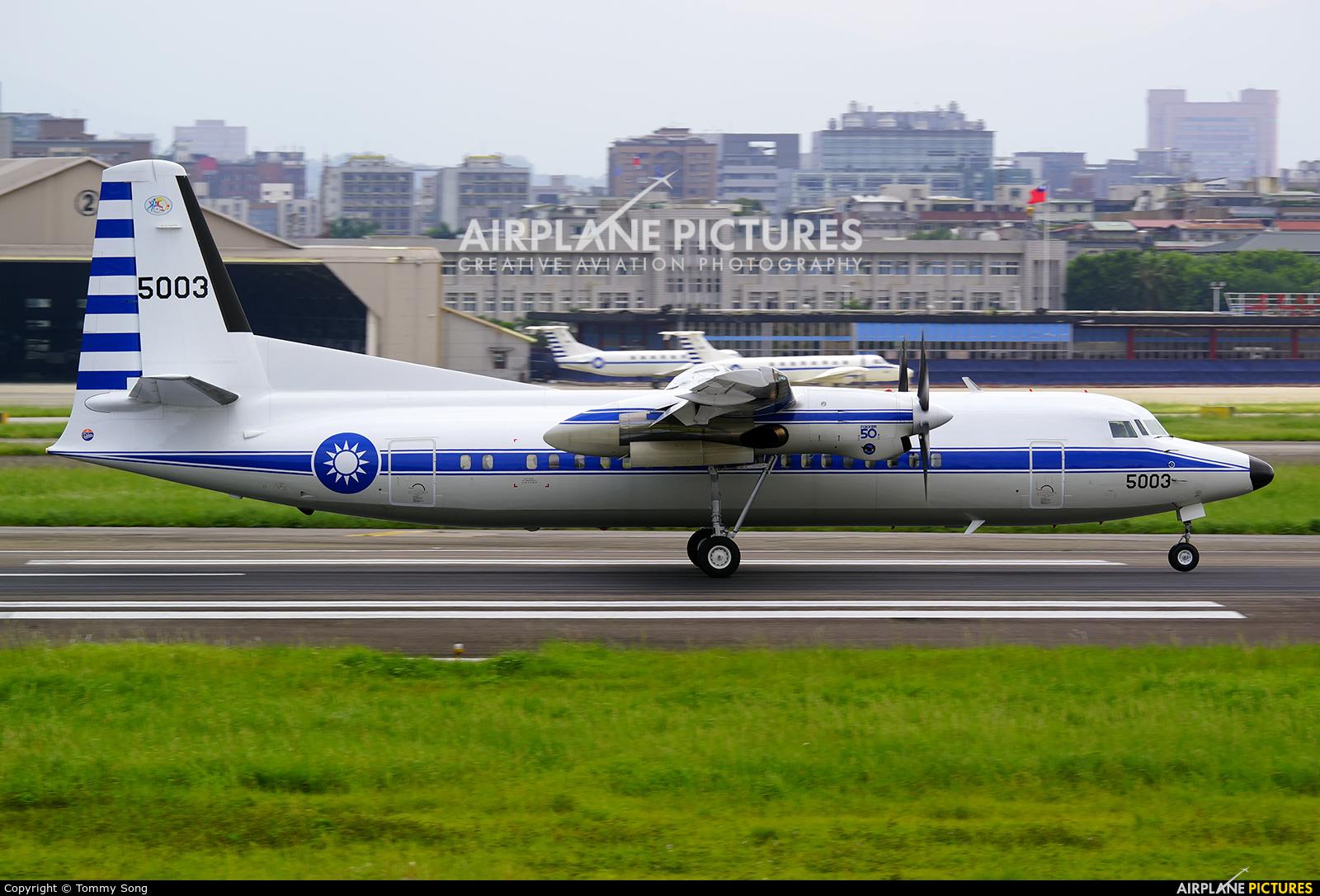Taiwan - Air Force 5003 aircraft at Taipei Sung Shan/Songshan Airport