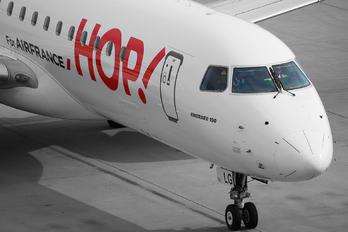 F-HBLG - Air France - Hop! Embraer ERJ-190 (190-100)