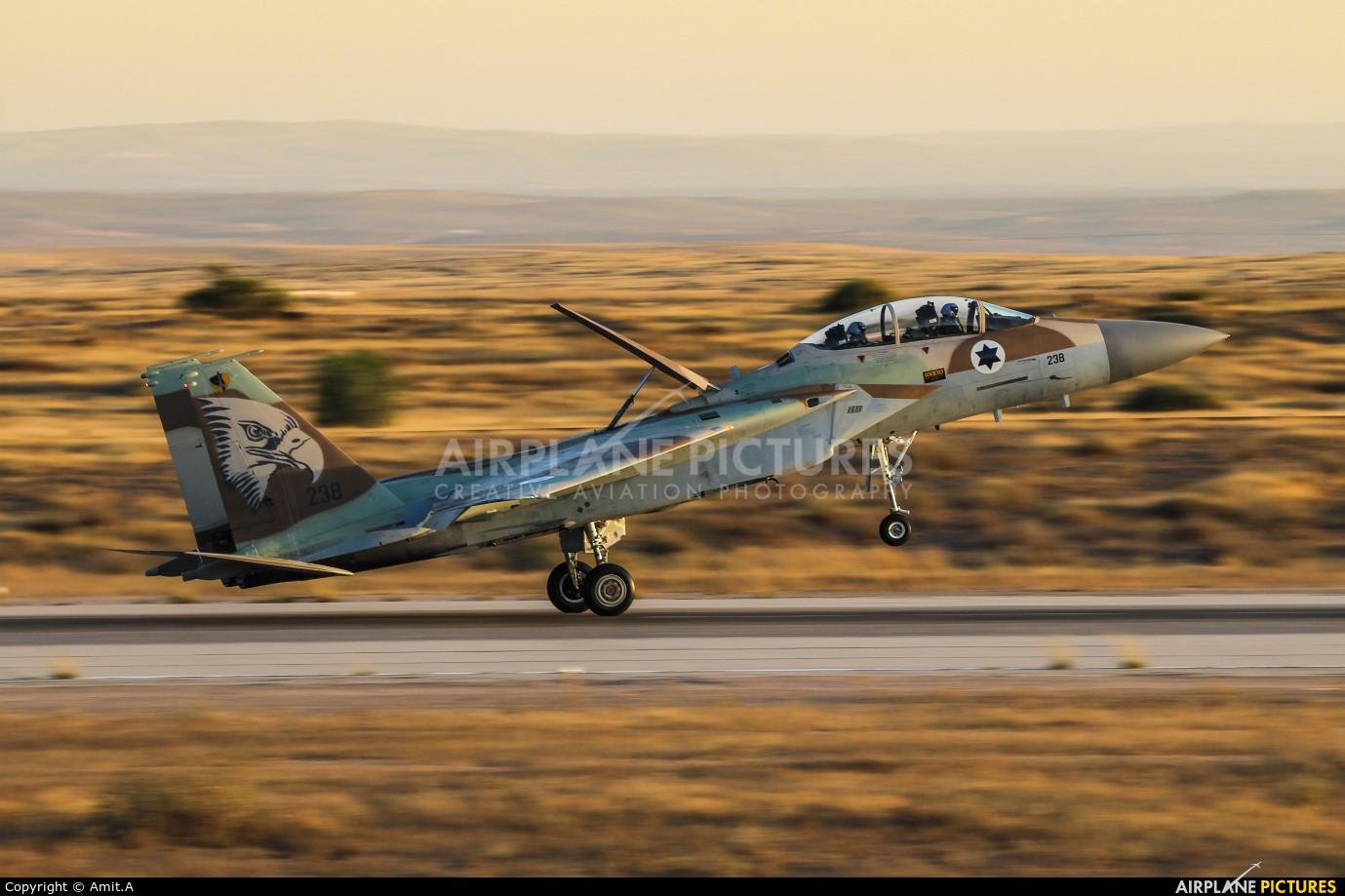 Israel - Defence Force 238 aircraft at Beersheba - Hatzerim