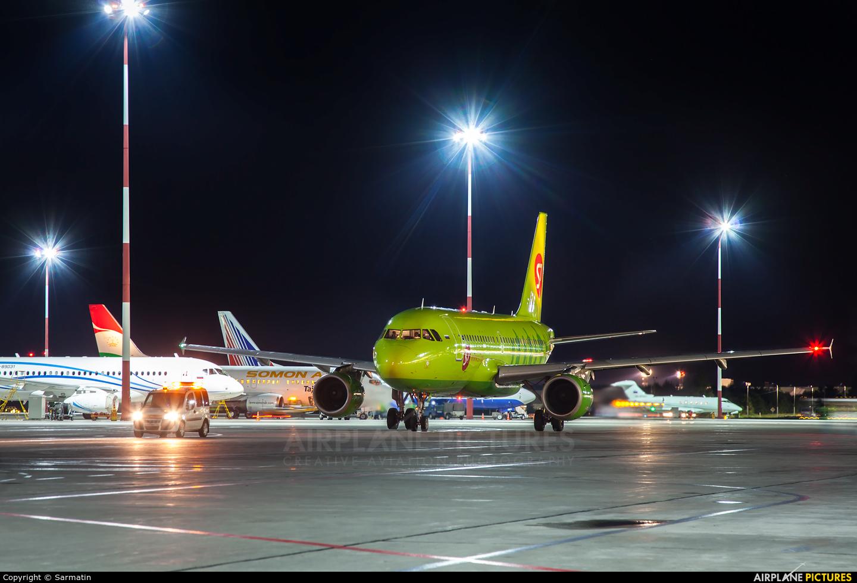 S7 Airlines VP-BTO aircraft at Kazan