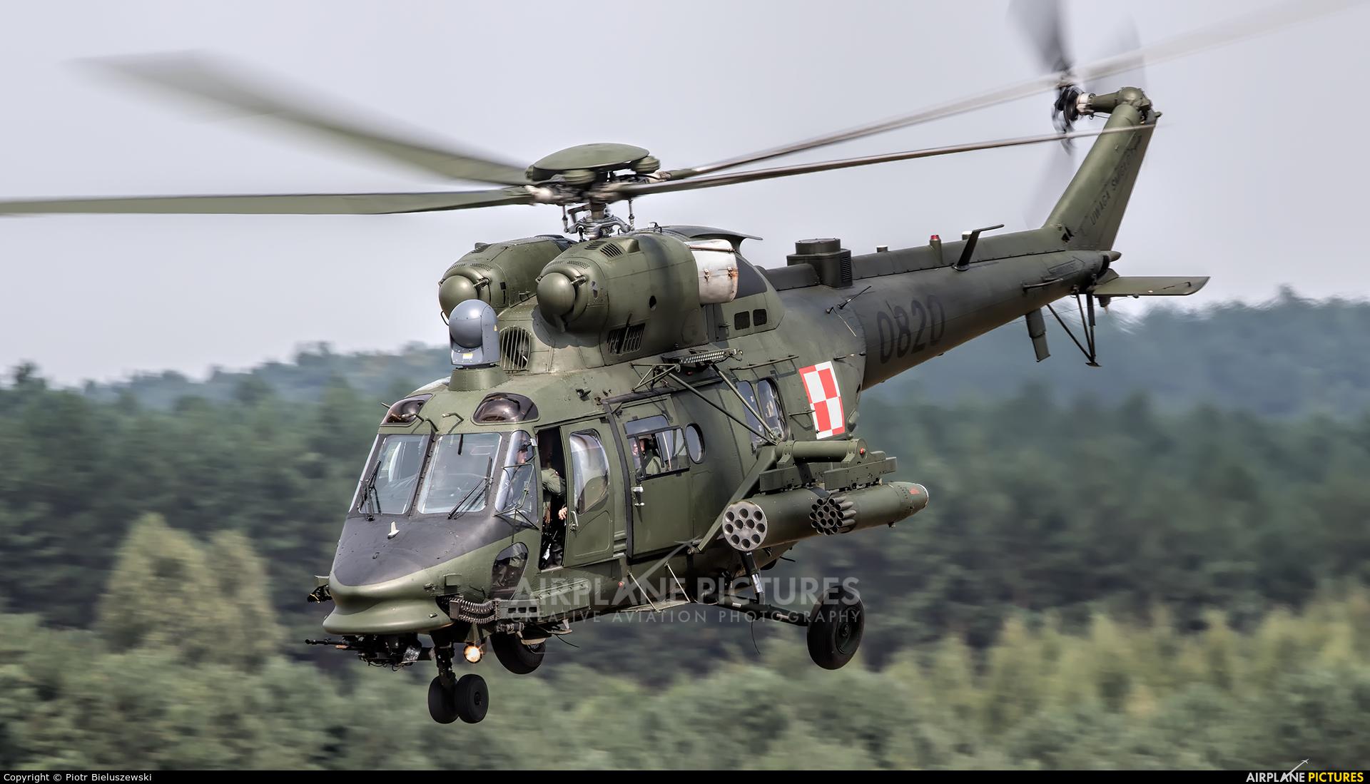 Poland - Army 0820 aircraft at Zielona Góra - Przylep