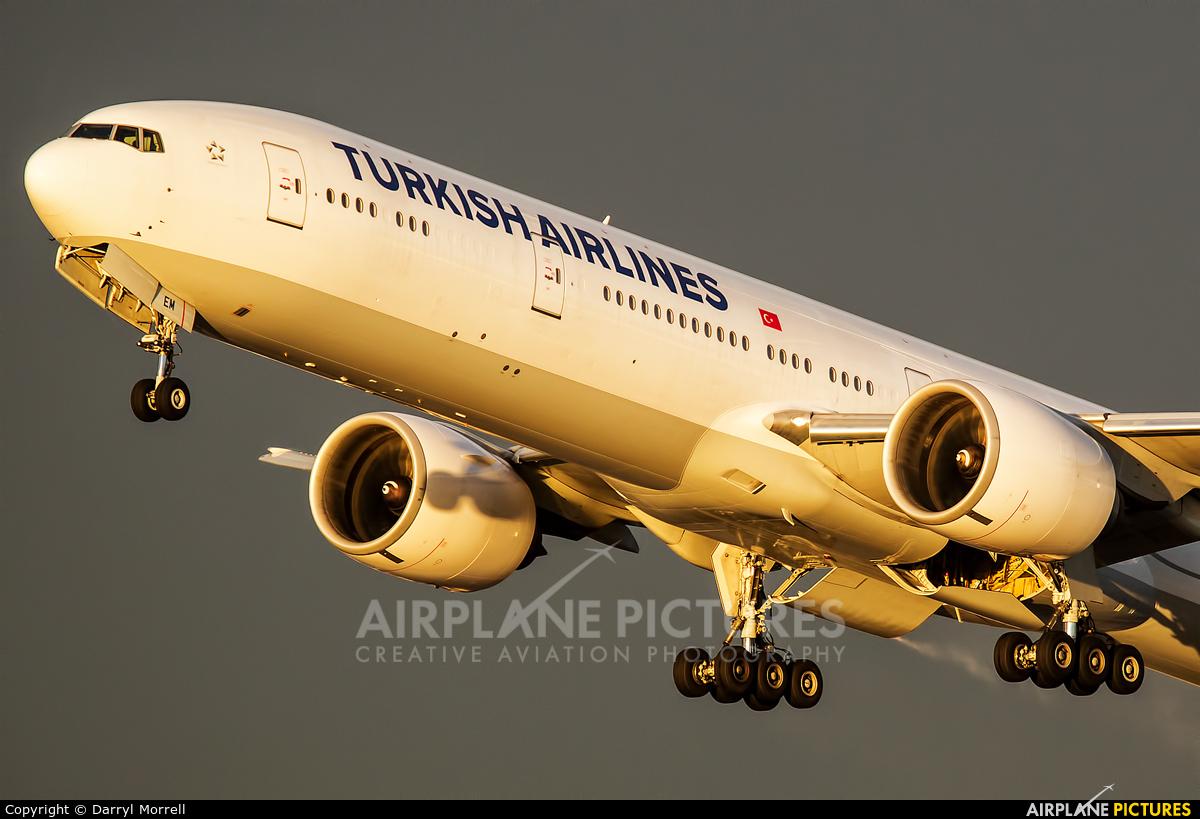 Turkish Airlines VT-JEM aircraft at London - Heathrow