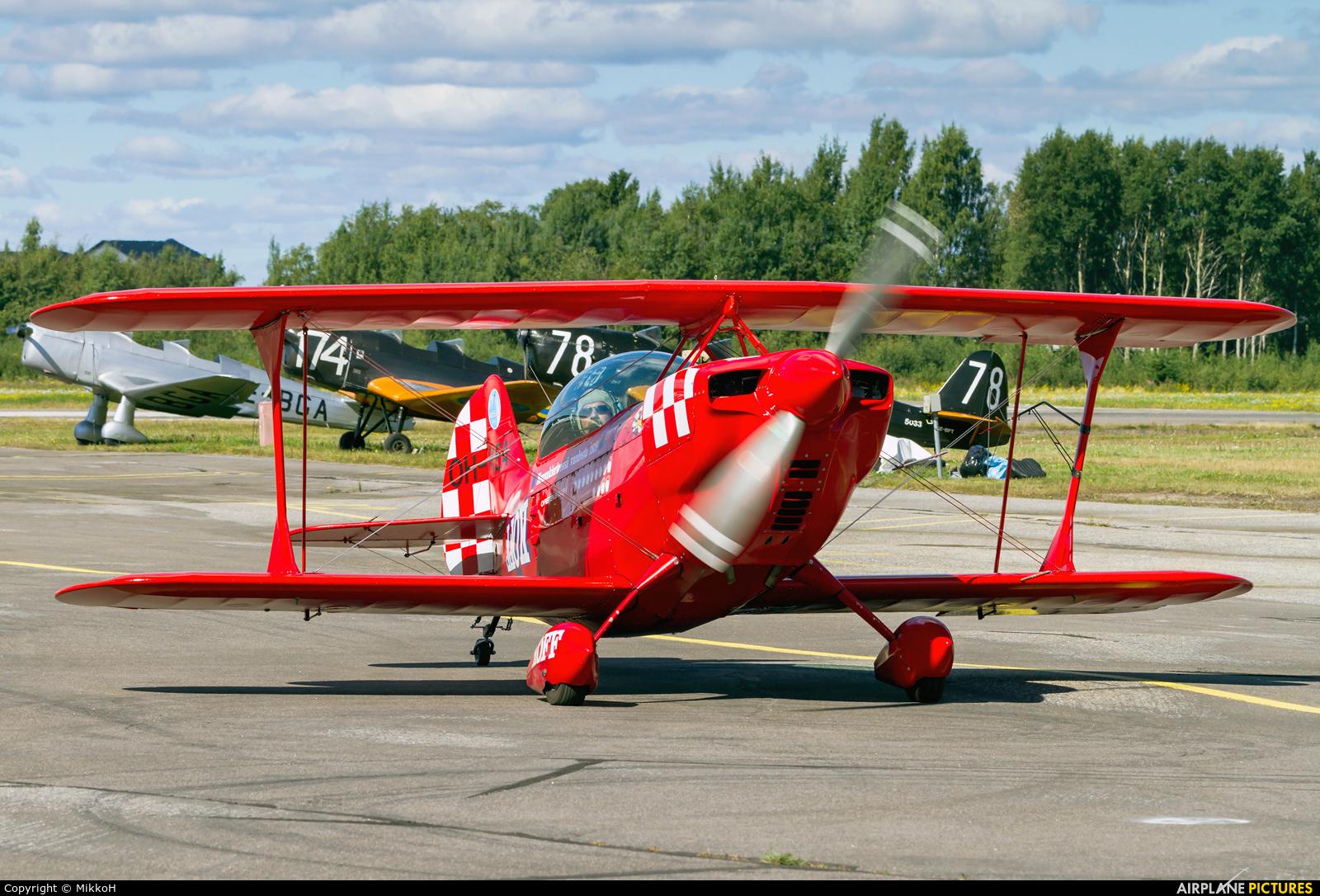 Private OH-XEA aircraft at Helsinki - Malmi