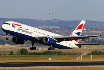 G-BNWS - British Airways Boeing 767-300