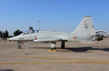 AE.9-09 - Spain - Air Force CASA-Northrop  SF-5B(M) Freedom Fighter