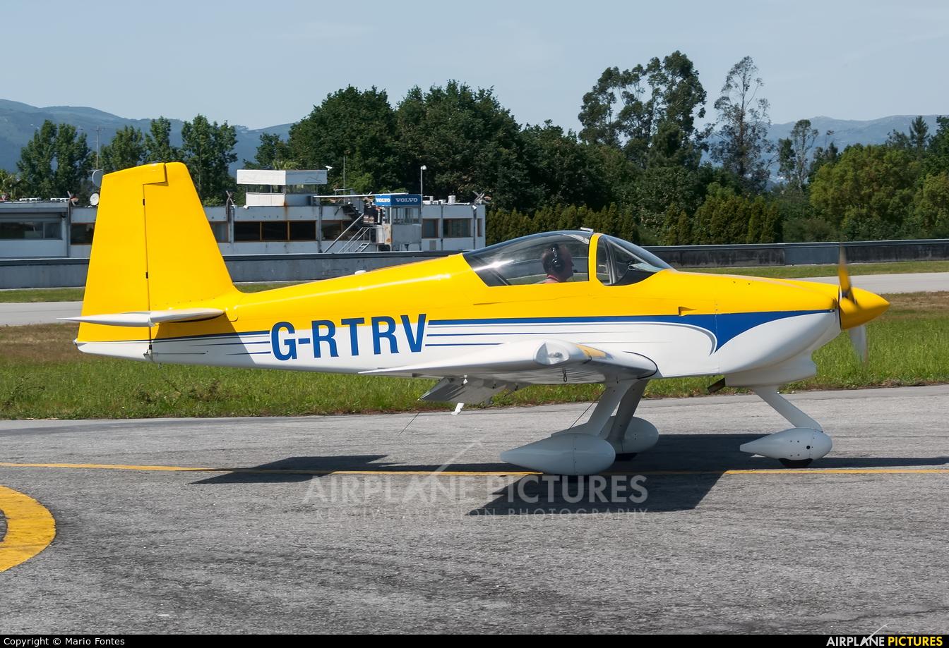 Private G-RTRV aircraft at Braga