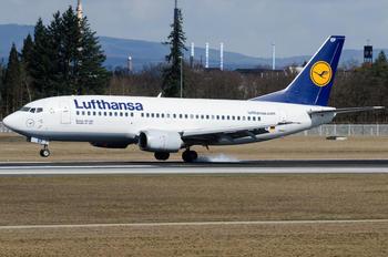 D-ABEF - Lufthansa Boeing 737-300