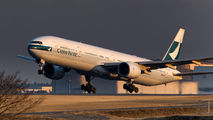 B-HNE - Cathay Pacific Boeing 777-300 aircraft