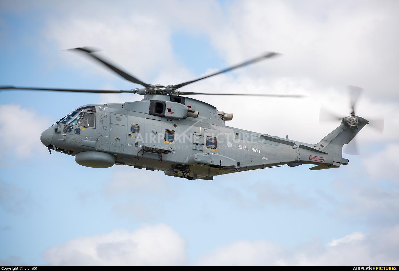 Royal Navy ZH843 aircraft at Culdrose