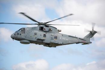 ZH843 - Royal Navy Agusta Westland AW101 111 Merlin HM.2