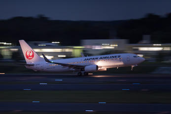 JA310J - JAL - Japan Airlines Boeing 737-800