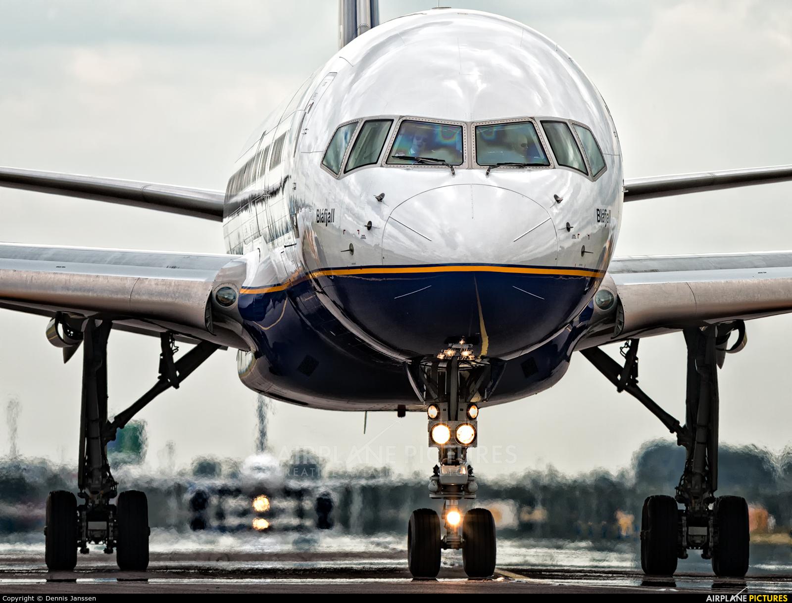 Icelandair TF-FIK aircraft at Amsterdam - Schiphol