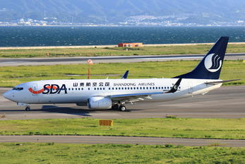 B-1986 - Shandong Airlines  Boeing 737-800