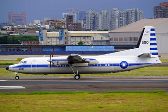 5001 - Taiwan - Air Force Fokker 50