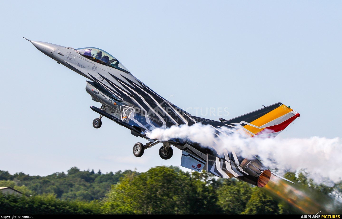 Belgium - Air Force FA-123 aircraft at Fairford