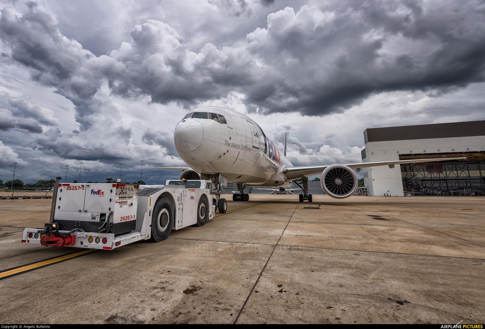 FedEx Federal Express N855FD aircraft at Memphis Intl